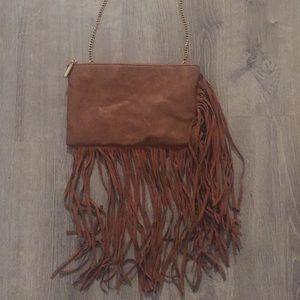 Handbags - Fringe Crossbody Purse